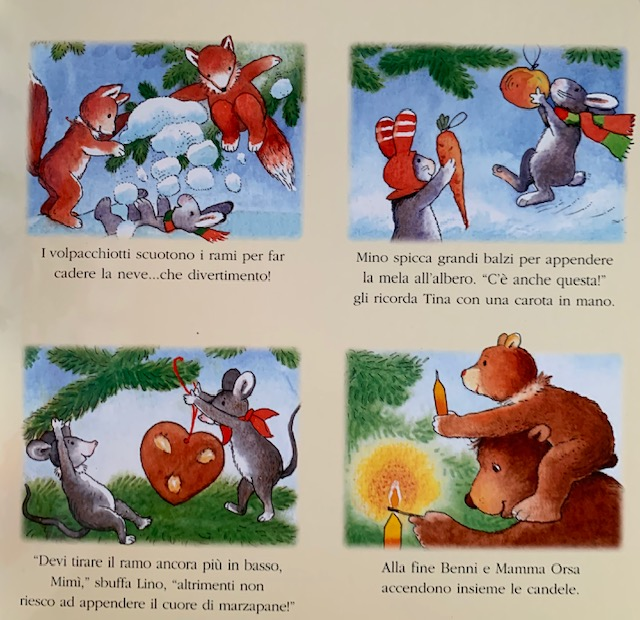 racconto Natale nel bosco2