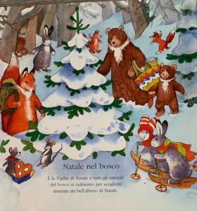 racconto Natale nel bosco1